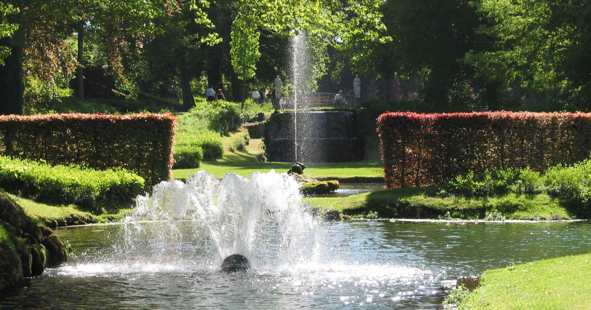 Accueil les jardins d 39 annevoie - Cortavientos de jardin ...